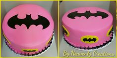 batman birthday cake for a little girl