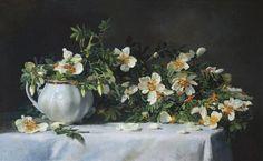 Панов Эдуард. Белые цветы