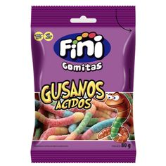 Comprar FINI GOMA GUSANO ÁCIDO 80GR .:: CONGRUPO ::. Snack Recipes, Snacks, Frosted Flakes, Pop Tarts, Candies, Cereal, Shopping, Snack Mix Recipes, Appetizer Recipes