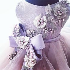 ANNA TRIANT COUTURE (I: 03/18) Gowns For Girls, Little Girl Dresses, Girls Dresses, Flower Girl Dresses, Dress Anak, Kids Gown, Fairy Clothes, Kids Frocks, Baby Gown