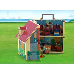playmobil grand camping car habitation decor miniature. Black Bedroom Furniture Sets. Home Design Ideas