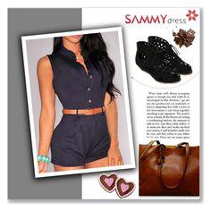 """""""Sammy Dress 12/60"""" by amra-mak ❤ liked on Polyvore featuring moda, Wilton e sammydress"""