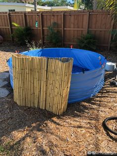 How to stop your stock tank pool from rusting is very simple as shown in this DIY stock tank pool makeover using a pool liner the way we did with ours. Small Swimming Pools, Above Ground Swimming Pools, Small Pools, In Ground Pools, Stock Pools, Stock Tank Pool, Plastic Stock Tanks, Jacuzzi, Little Pool
