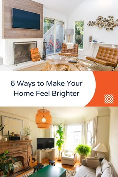 If you yearn for a brighter, happier space, then you'll love these decor ideas and home design tips! Give them a try and make your home feel brighter Fancy Mirrors, Room Additions, Dining Room Lighting, Contemporary Interior Design, Create Space, Basement Remodeling, How To Level Ground, Home Renovation, Great Rooms