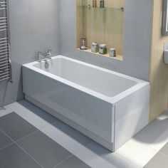 Kensington Bath 1500 x 700 - Victoria Plumb