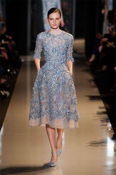 Champagne & Macarons: Paris Haute Couture ~ Elie Saab