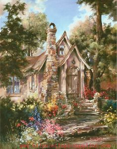 Cottage of Carmel ~ By ~ The Sea by Marty Bell