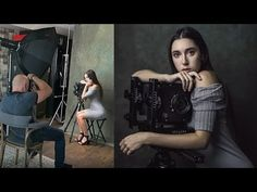 Shooting with Window Light in a Small Home Studio, Behind The Scenes Portrait Photography Lighting, Photography Set Up, Photography Lessons, Photography Camera, Inspiring Photography, Commercial Photography, Photography Tutorials, Beauty Photography, Creative Photography