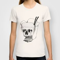 """Monster Food: Takeout"" T-Shirt by X V I I I on Society6."