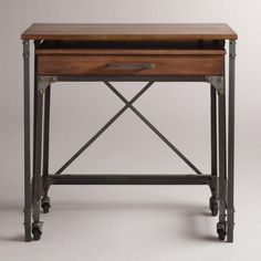 Rowley Nesting Desk, Set of 2 - This desk is the perfect solution for a small space. Think outside the office too! This could be a great console in a small living/dining area that becomes a buffet or bar when guests arrive.