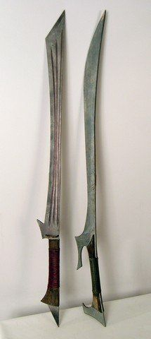 Swords of Dejah Thoris,Princess of Mars.