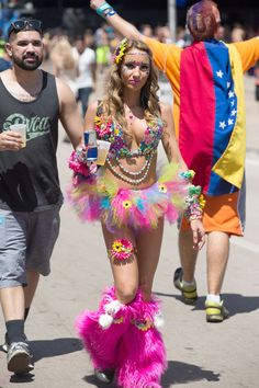 The 66 Most Insane Street Style Looks From Ultra Music Festival