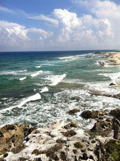The view from Coconuts Bar in Cozumel, Mexico
