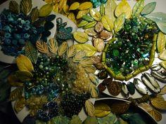 Porcelain leaves Workshop, Porcelain, Leaves, Space, Painting, Art, Floor Space, Art Background, Atelier