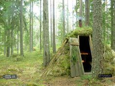 Kolarbyn    Primative Forest huts in idyllic location - sleep in a traditional forest hut in the woods