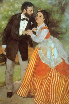 Alfred Sisley, by Pierre-Auguste Renoir