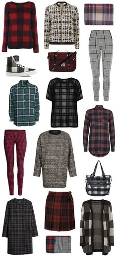 Autumn / Winter '13 Fashion Trends: Checks & Tartan #fashion #aw13 #trends #checks #tartan