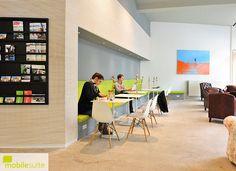 Arbeitsplatz, Innenräumen, Kommerziellen Design, Kaffetabellen, Coworking  Space, Berlin Deutschland, Arbeitsbereiche, Sitzbänke, Office Workstations