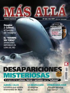 """Revista Más Allá 308. Desapariciones misteriorsas. El enigma de los aviones, barcos y personas que se """"esfuman"""" ·"""