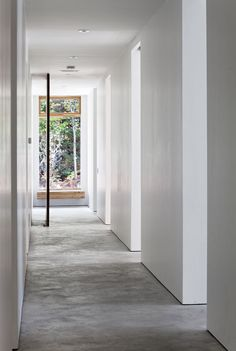 Hallway, Carling Residence in Ontario, Canada by TACT Architecture