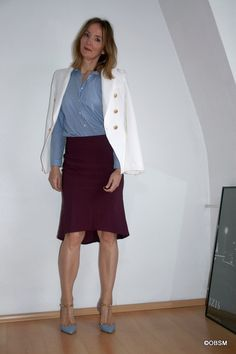 HOW NOT TO LOOK BORING IN BUSINESS - Oceanblue Style at Manderley -fashion blog