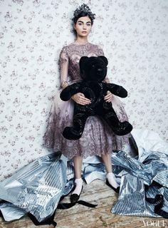 """Toy Story"": Antonina Vasylchenko by Danil Golovkin for Vogue Russia December 2012"