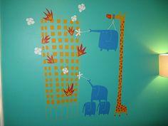 blik wall decal;nursery decor, nursery wall decal, nursery wall art,nursery decal;