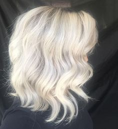 Absolute in love with my new hair colour by @melissamckenna she is freaking amazing finally got my hair the colour I wanted! Style by me aka @bellacouturehm inspired by @natalieannehair #perthhair #perthhairstylist #perthstylist #perthhairdresser #perthhairsalon #instahair #hairinspo #whitehair #greyhair #greyombre #whiteblonde #ombre #icyhair #grannyhair