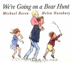 Going on a bear hunt activity for young toddlers