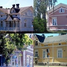 Gorgeous Finnish houses.