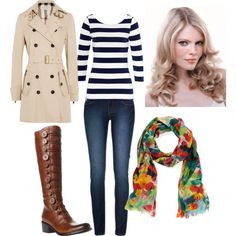 """Floral Fall"" by fishkid4 on Polyvore"