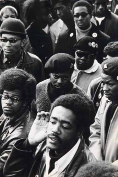 Black Panthers, Bobby Seale, Oakland, March 1968. Ph. Jeffrey Blankfort