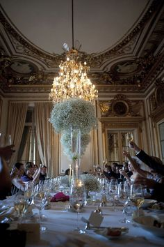 Reception in Paris. (Hotel de Crillion.)