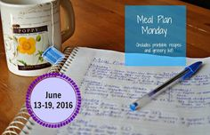 Darcie's Dishes: Meal Plan Monday: 6/13-6/19/16 ~ A seven day meal plan that include all meals, snacks and drinks. Everything is 100% Trim Healthy Mama compliant. A printable meal plan and shopping list is included too for FREE.