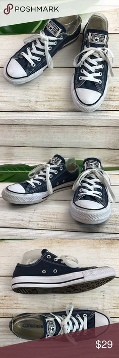 236d85ac3cd Shop Women s Converse Blue White size 8 Sneakers at a discounted price at  Poshmark.