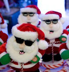 Santa Dogs? I think so. ☺