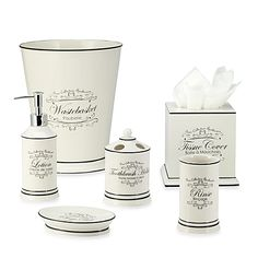 Le Bain Bathroom Set Our First Home Pinterest Tissue Holders