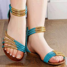 Sandals and High Heel shoes Trend 2014 for Ladies ♡♥ Shoes Flats Sandals, Cute Sandals, Girls Sandals, Girls Shoes, Shoe Boots, Flat Shoes, Flat Sandals, Heels For Girls, Pretty Sandals