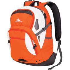 asics backpack Orange