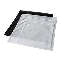 PRESSA washing bag, set of 3/ 2.99- IKEA Can use for delicates/lingerie/etc.