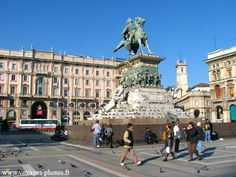 Milan, Italy. I went there once when I was 10 and I didn't go sight seeing.