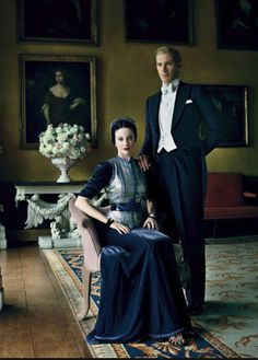 I love the the movie WE produced by Madonna. Light on the content, brilliant on the costumes and set design. Wallis Simpson had impeccable taste in fashion. In Paris they lived in a grand home leased to them at a nominal amount by the French government. She was dressed by the most famous designers of the day and photographed throughout her life by Cecil Beaton. There has been a book written about the royal couple called the Windsor Style.