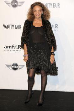 Diane von Furstenberg Photo - Milan Fashion Week Womenswear Spring/Summer 2011 - amfAR's Milano 2010 Arrivals