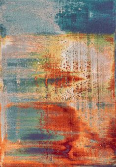 Add an artistic touch to your floor with this KAS Rugs Illusions Luminous Abstract rug. In multi. Carpet Sale, Machine Made Rugs, Rectangular Rugs, Watercolor Design, Watercolor Rug, Home Living, Living Room, Living Area, Rugs Online