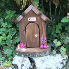 Another Fairy House in the garden of Rainbow Cottage!