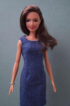 NEW 2019 Barbie Doll Yellow /& White Polka Dot Cactus Top ~ Fashionista Clothing
