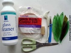 materials for stained glass copper foil