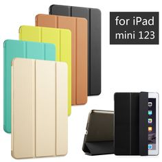 De alta Calidad de LA PU Cuero de la Tableta Cubierta Elegante Del Caso Ultra Delgado de Diseño para apple ipad mini 1 2 3 mini1 mini2 mini3 retina
