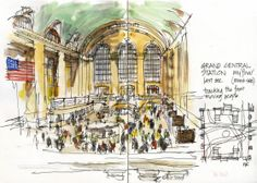 Grand Central Station by Liz Steel