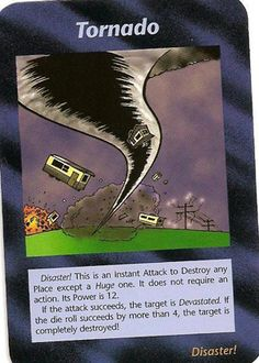 Illuminati card game, tornado